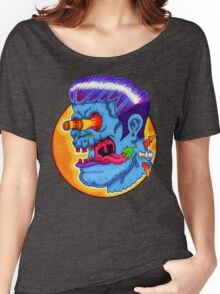 Freaky Frankie (Blue Variant) Women's Relaxed Fit T-Shirt