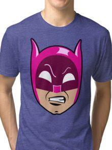B-Man Pink Cowl Tri-blend T-Shirt