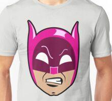 B-Man Pink Cowl Unisex T-Shirt