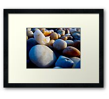 Blue Ocean Tumblers Framed Print