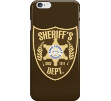 King County Sheriffs Department iPhone Case/Skin