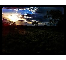 Grasslands of the Outback Photographic Print