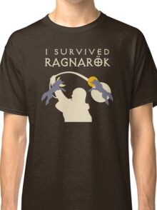 I Survived Ragnarok (Wolves) Classic T-Shirt