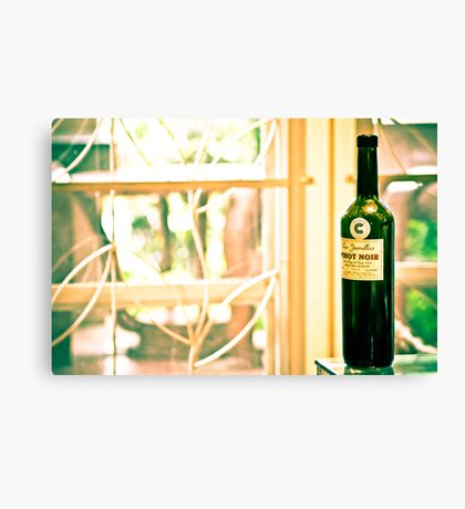 Mr Pinot Noir and you...On 3 Featured Works Canvas Print