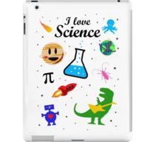 I Love Science (black version) iPad Case/Skin