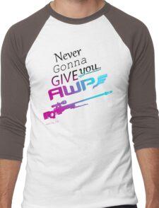Counter-Strike    Never Gonna Give You AWP Men's Baseball ¾ T-Shirt