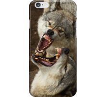 """Smiles, everyone, smiles!"" - Timber Wolves iPhone Case/Skin"