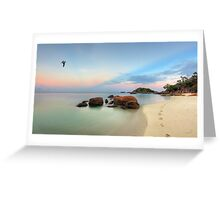 A Walk in Paradise Greeting Card