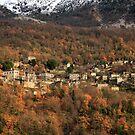 Autumn in Zagori - Mikro Papigo village by Hercules Milas