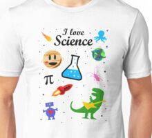 I Love Science (black version) Unisex T-Shirt