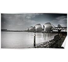 Thames Barrier Poster
