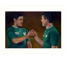 A Rugby Union Art Print