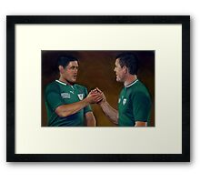 A Rugby Union Framed Print