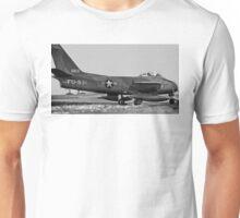 Canadair F-86E(M) Sabre 19831 USAF Unisex T-Shirt