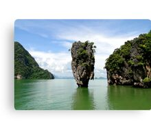James Bond Island Canvas Print