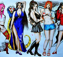 Ladies of One Piece by HopeAndCourage