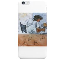 Artist at Greens & Co iPhone Case/Skin