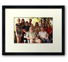 Parkes Family Framed Print
