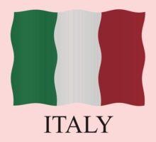Italian flag by stuwdamdorp