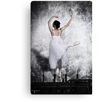 The Steel Dance Canvas Print