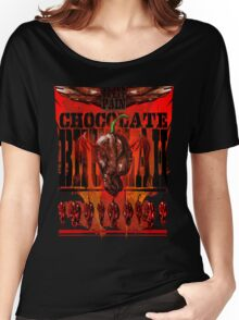 The Chocolate Bhutlah (dark choc version) Women's Relaxed Fit T-Shirt