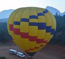 Hot Air Balloon by bradleyduncan