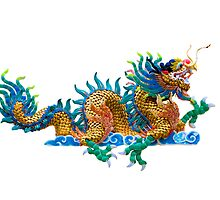 Chinese dragon by hinnamsaisuy