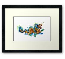 Chinese dragon Framed Print