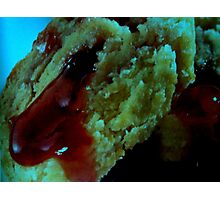 Strawberry, bloody fillings... Photographic Print