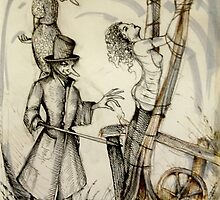 Pinocchio & The Blue Fairy ( Nursery Cryme Series )  by John Dicandia  ( JinnDoW )