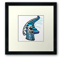 The Stairs Never Bothered Me Anyway Framed Print