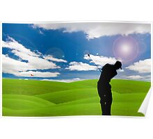 golf fairway Poster