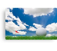 golf fairway Canvas Print