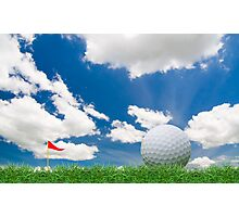 golf fairway Photographic Print