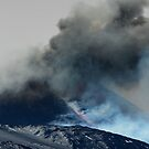 Schiena dell'Asino, Etna - Burning Southeast Crater by cicciofarmaco