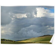 Storm Clouds over Belstone Poster