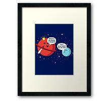 Dwarf Planet Framed Print