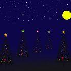 christmas night by hinnamsaisuy