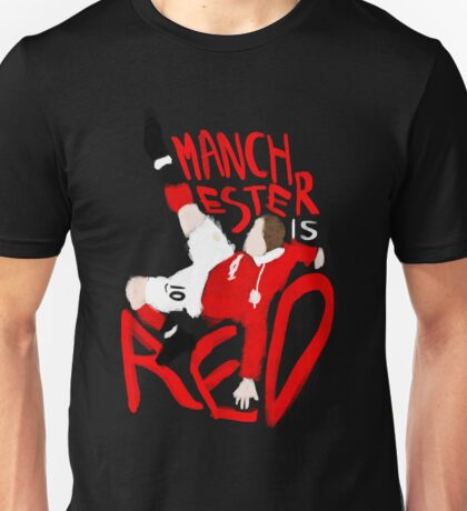 Manchester is Red Unisex T-Shirt