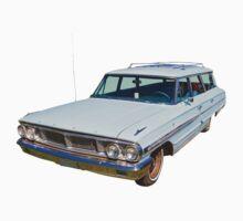 1964 Ford Galaxy Country Sedan Stationwagon One Piece - Short Sleeve