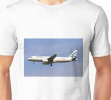 Aegean Airlines, Airbus A320 Unisex T-Shirt