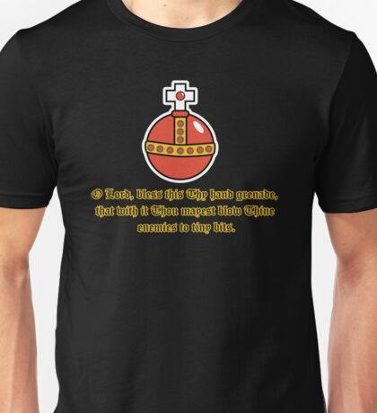 The Holy Hand Grenade of Antioch Unisex T-Shirt