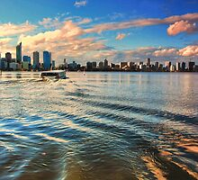 South Perth Ferry by Jill Fisher