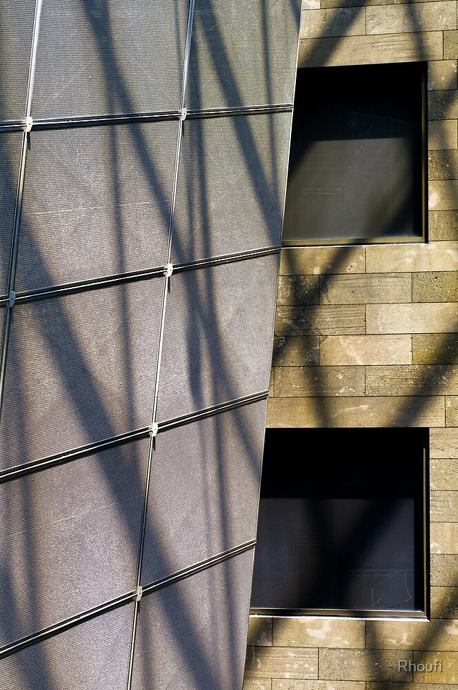 Steel, Stone and Shadow - I by Rhoufi