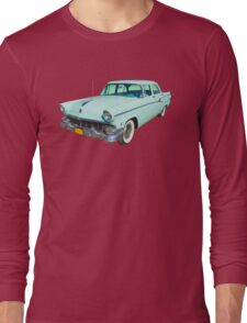1956 Ford Custom Line Antique Car Long Sleeve T-Shirt