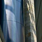 Steel, Stone and Shadow - II by Rhoufi