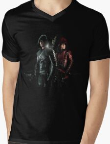 Green Arrow and Red Arrow T-Shirt