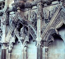 Lady Chapel Carvings by Claire Elford