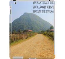 dusty road iPad Case/Skin