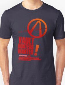 Borderlands 2 Vault Hunters Wanted! T-Shirt